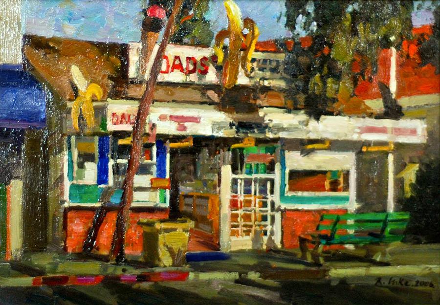 Randall Lake, Dad's Balboa Island