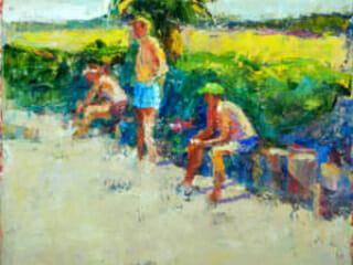 "Dennis Hare, La Playa ""Summer"""