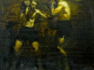 Steve Huston, Sparring Boxers