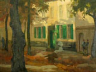 Jean Manneheim, The Green Blinds, n.d.