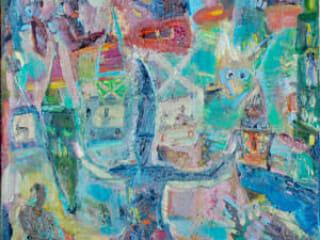 Carlos Almaraz, Untitled-Clown