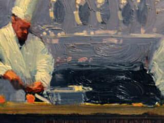 Ken Auster, Chef Rainer and Crew