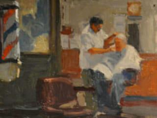 Ken Auster, Wally's Barber Shop