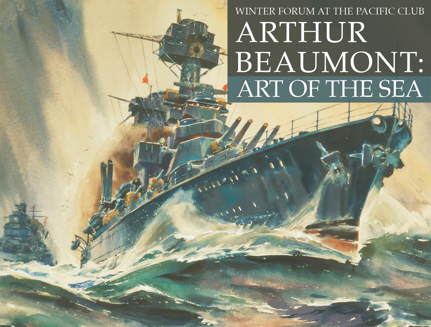 Arthur Beaumont: Art of The Sea, Pacific Art Foundation Event