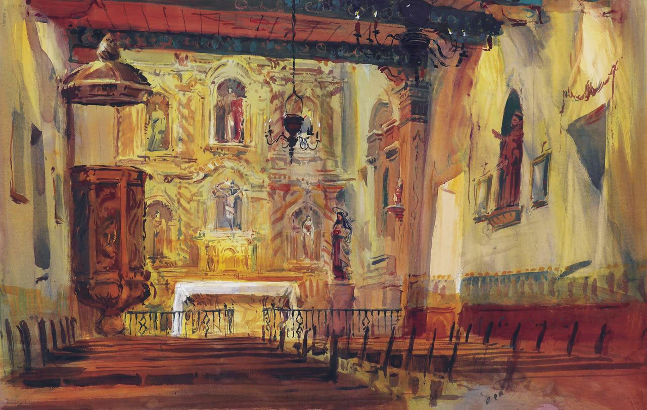 Watercolor, Timithy J. Clark