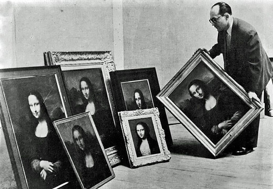Mona Lisa- Forgeries